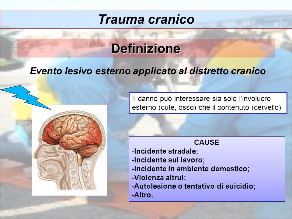 Trauma cranico Definizione