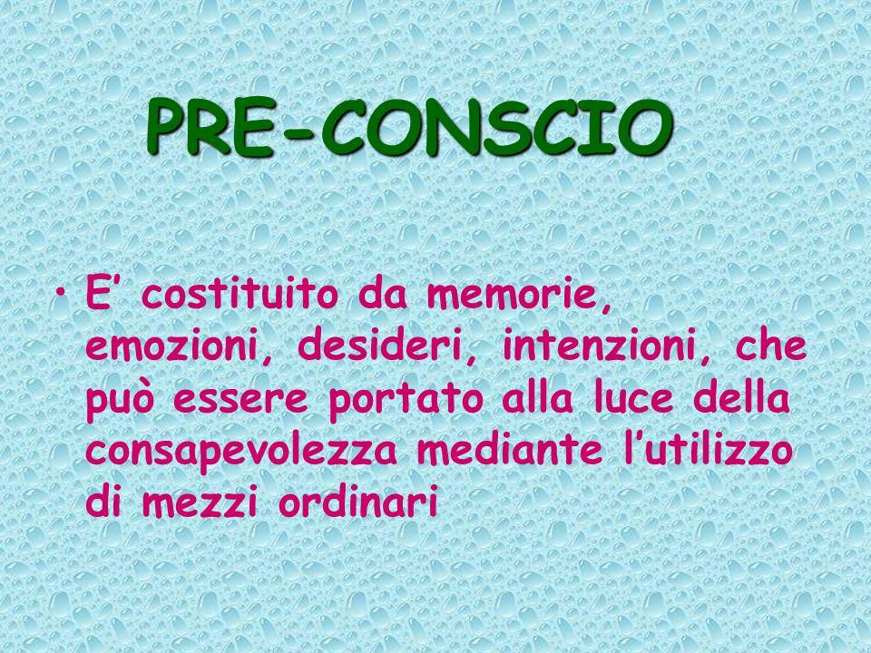 PRE-CONSCIO