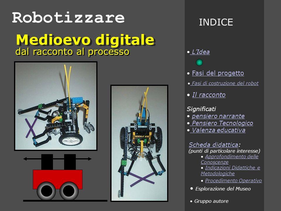 Robotizzare Medioevo digitale INDICE dal racconto al processo