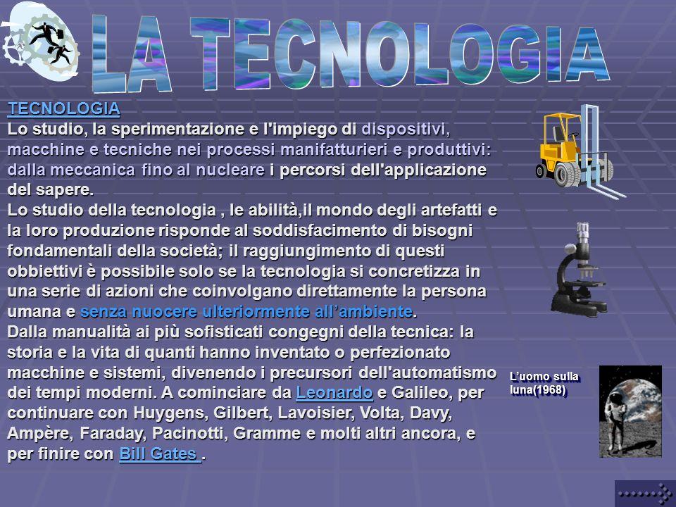 LA TECNOLOGIA TECNOLOGIA
