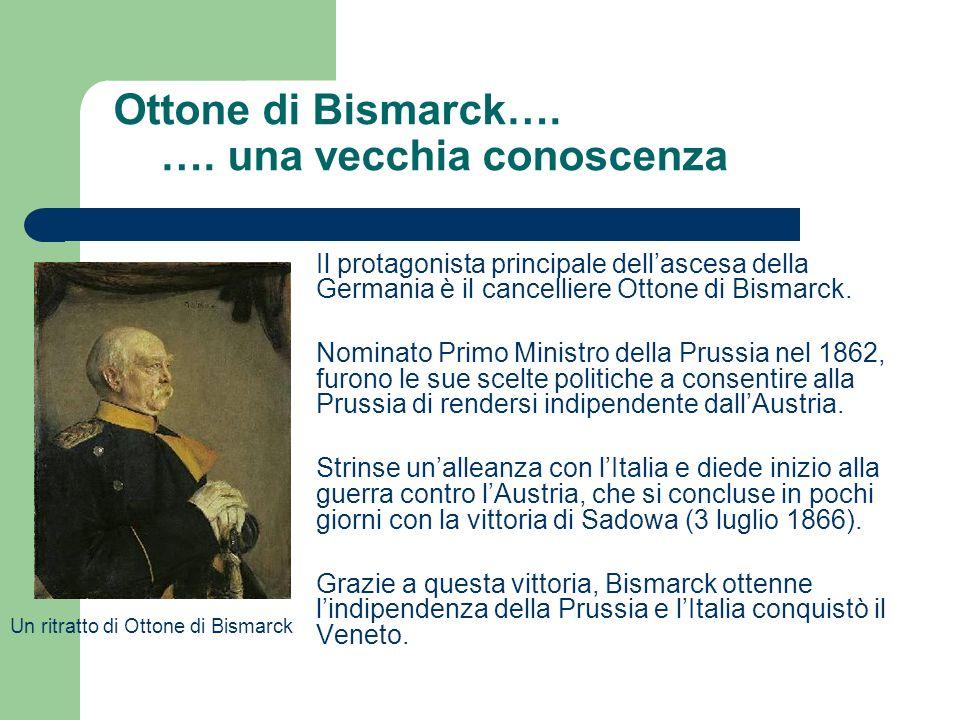 Ottone di Bismarck…. …. una vecchia conoscenza
