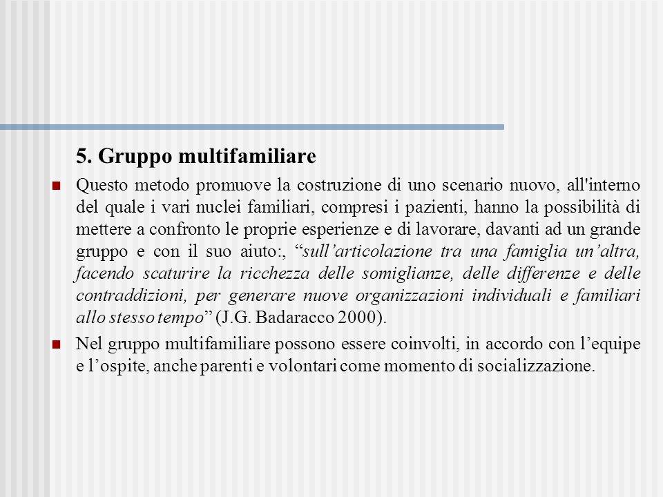 5. Gruppo multifamiliare