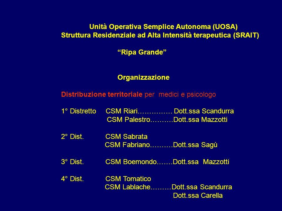 Unità Operativa Semplice Autonoma (UOSA)