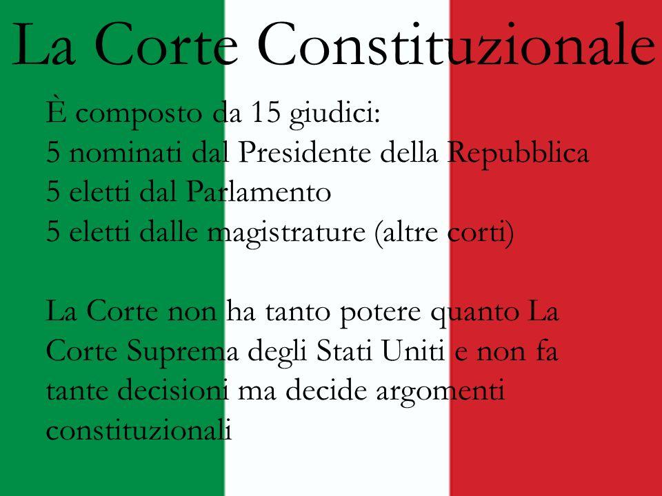 La Corte Constituzionale