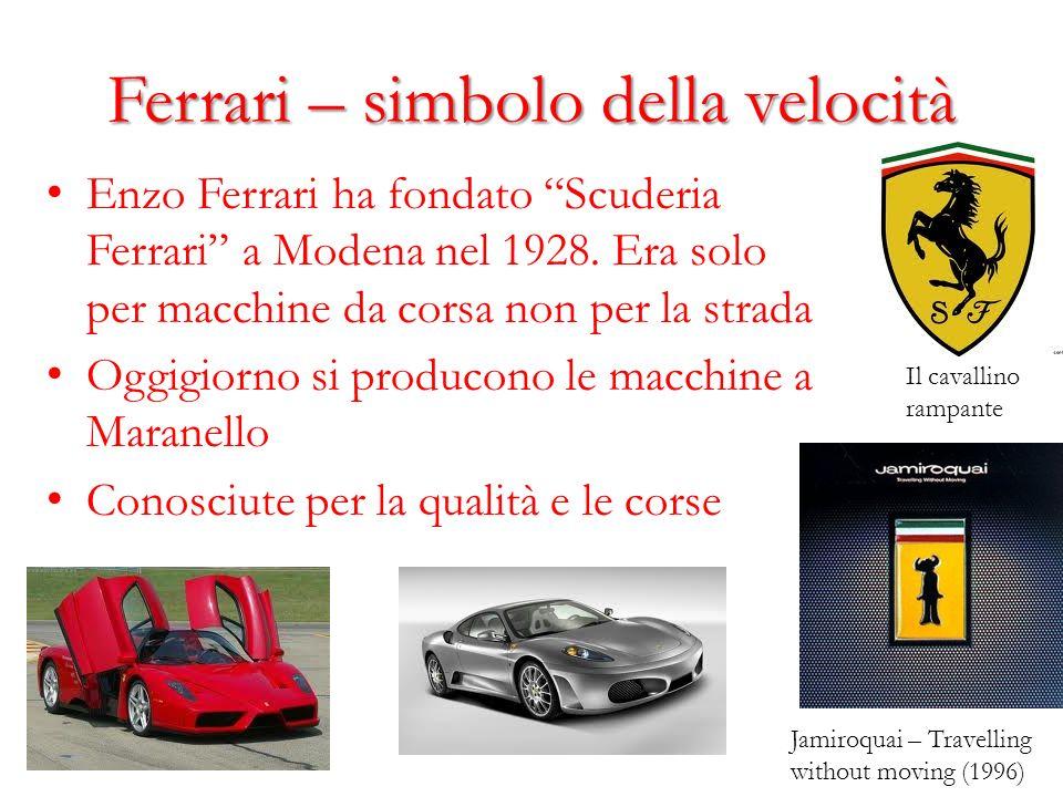 Ferrari – simbolo della velocità