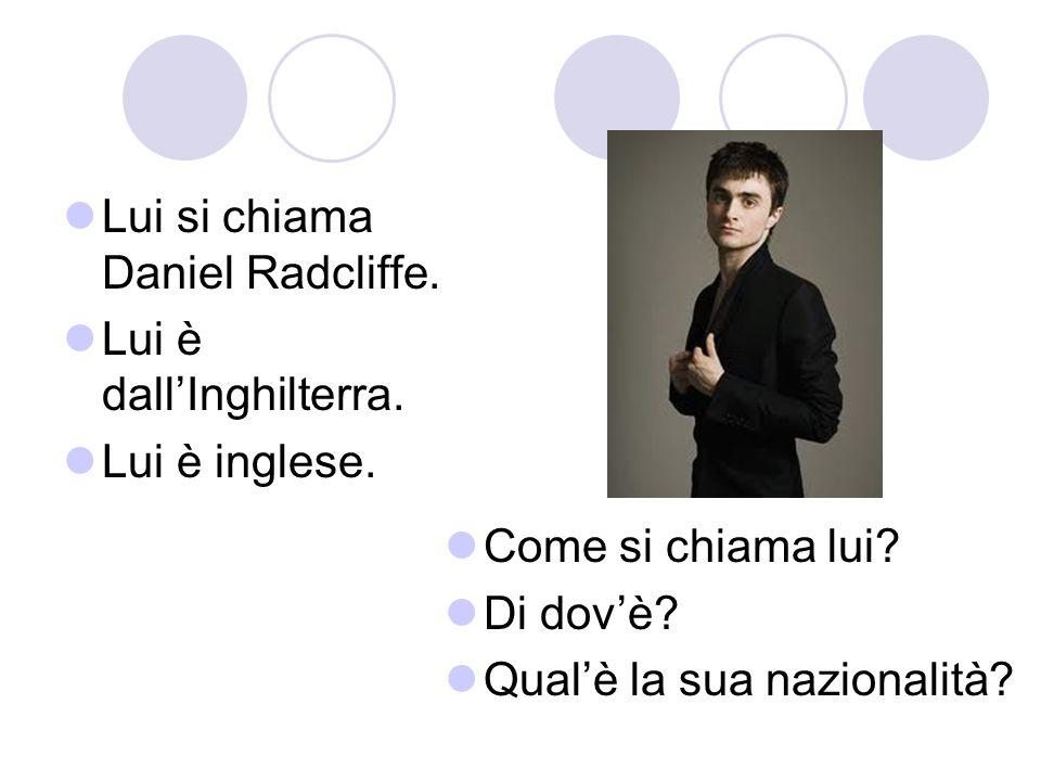 Lui si chiama Daniel Radcliffe.