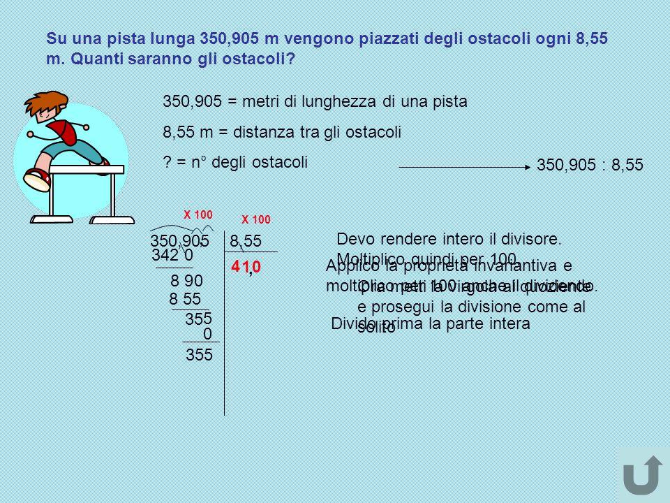 350,905 = metri di lunghezza di una pista