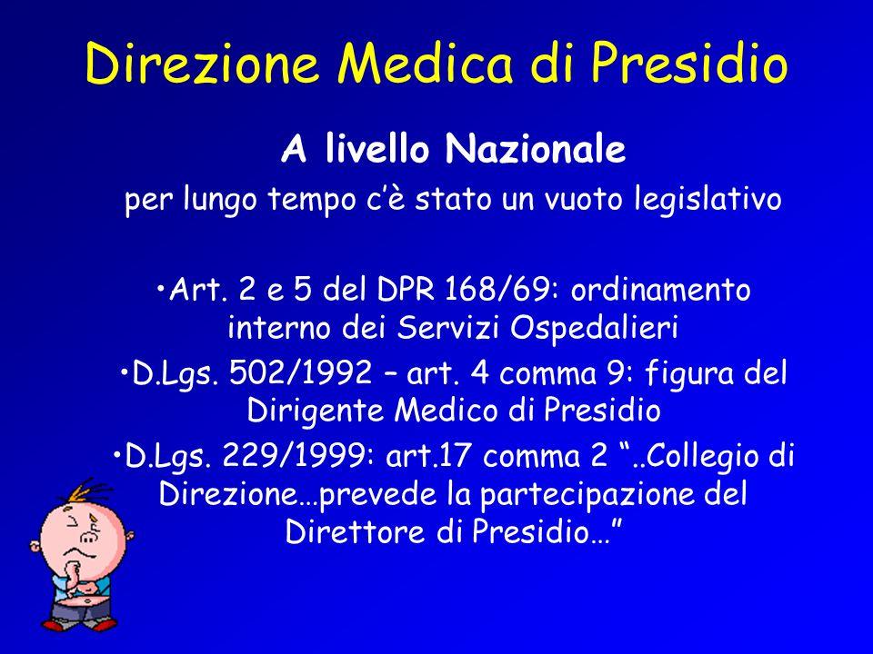 Direzione Medica di Presidio