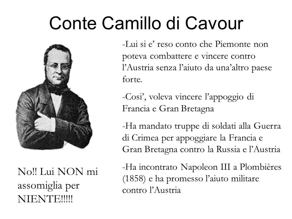 Conte Camillo di Cavour
