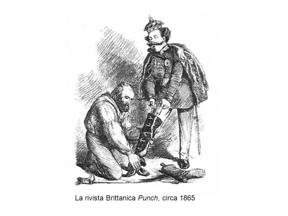 La rivista Brittanica Punch, circa 1865