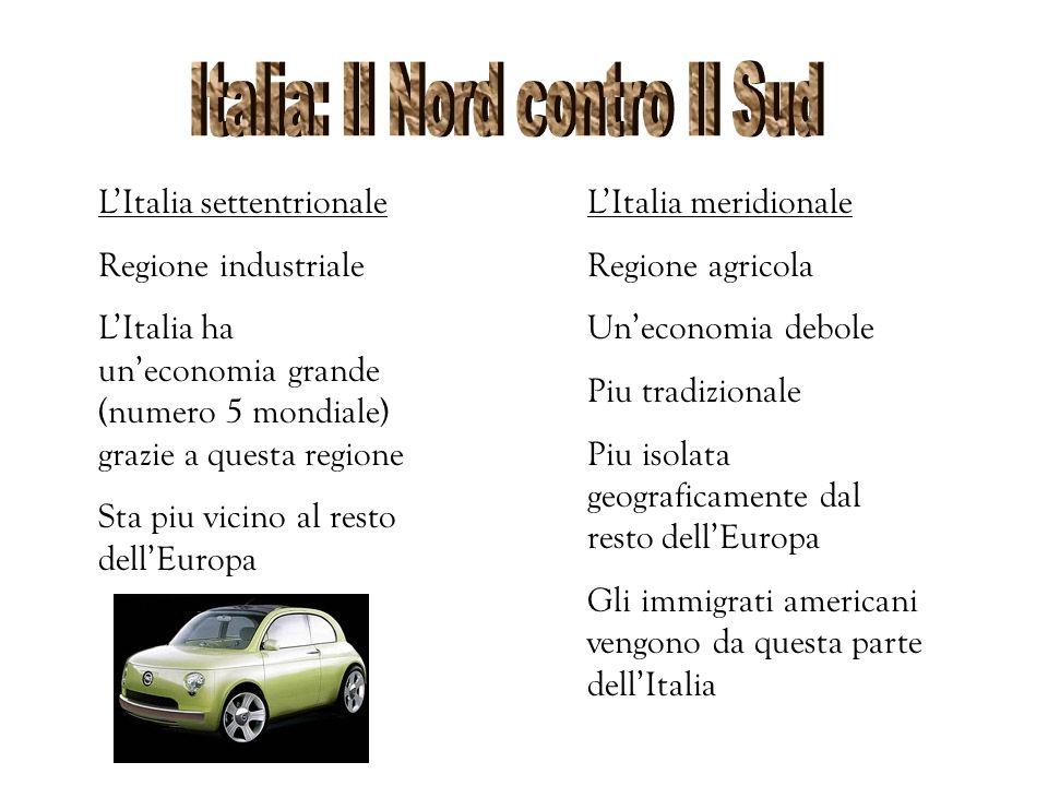 Italia: Il Nord contro Il Sud