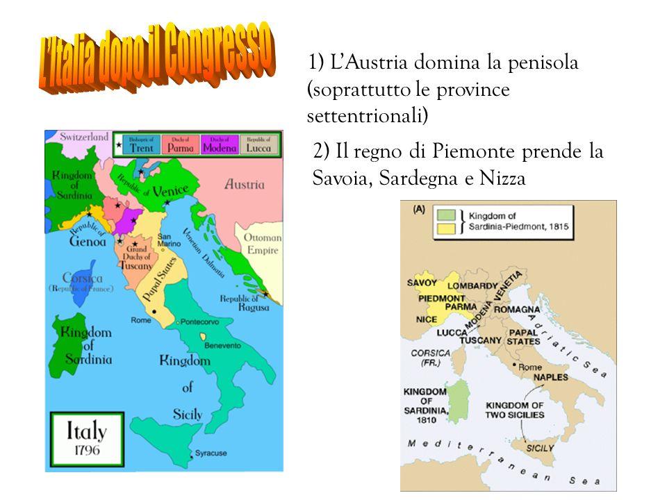 L'Italia dopo il Congresso