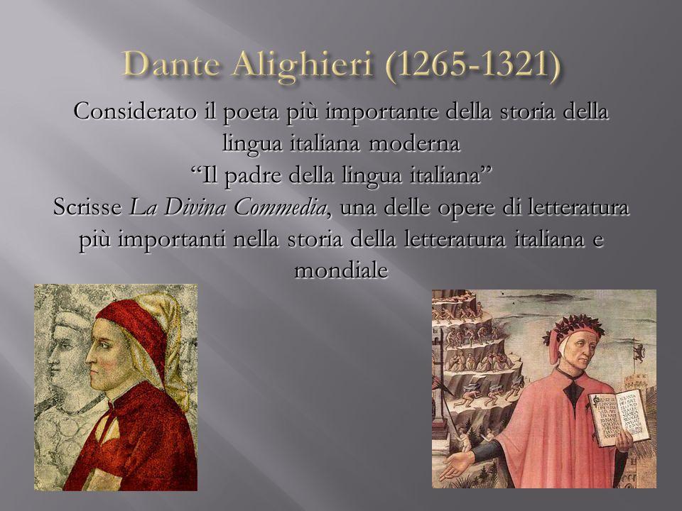 Il padre della lingua italiana
