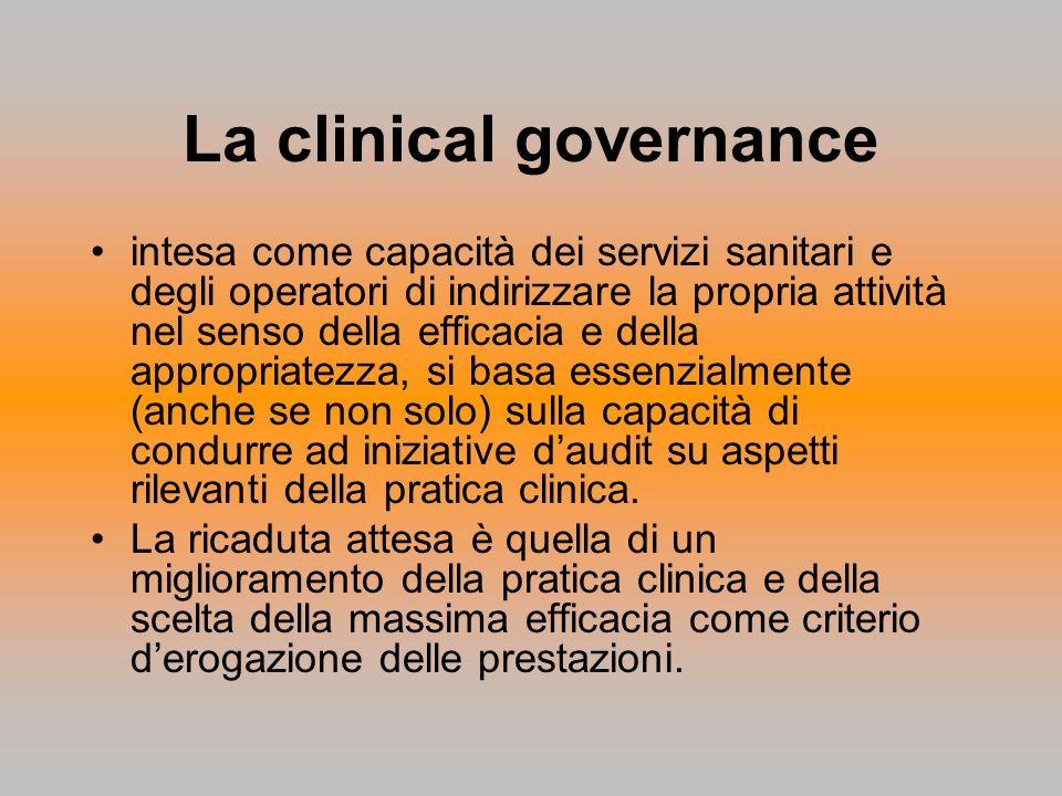 La clinical governance