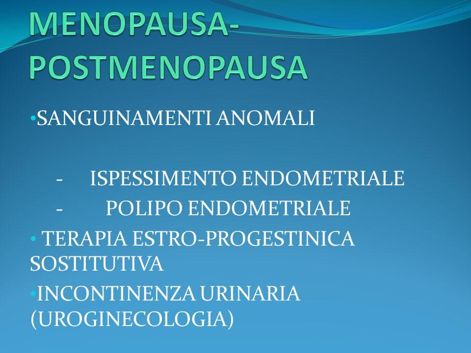 MENOPAUSA-POSTMENOPAUSA