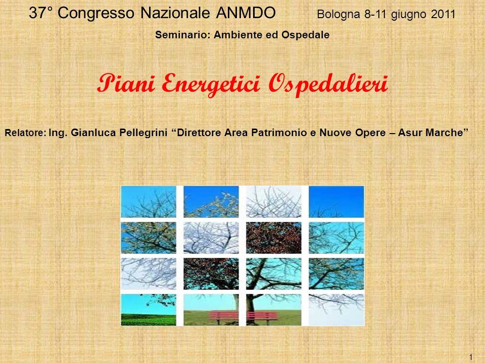 Seminario: Ambiente ed Ospedale Piani Energetici Ospedalieri