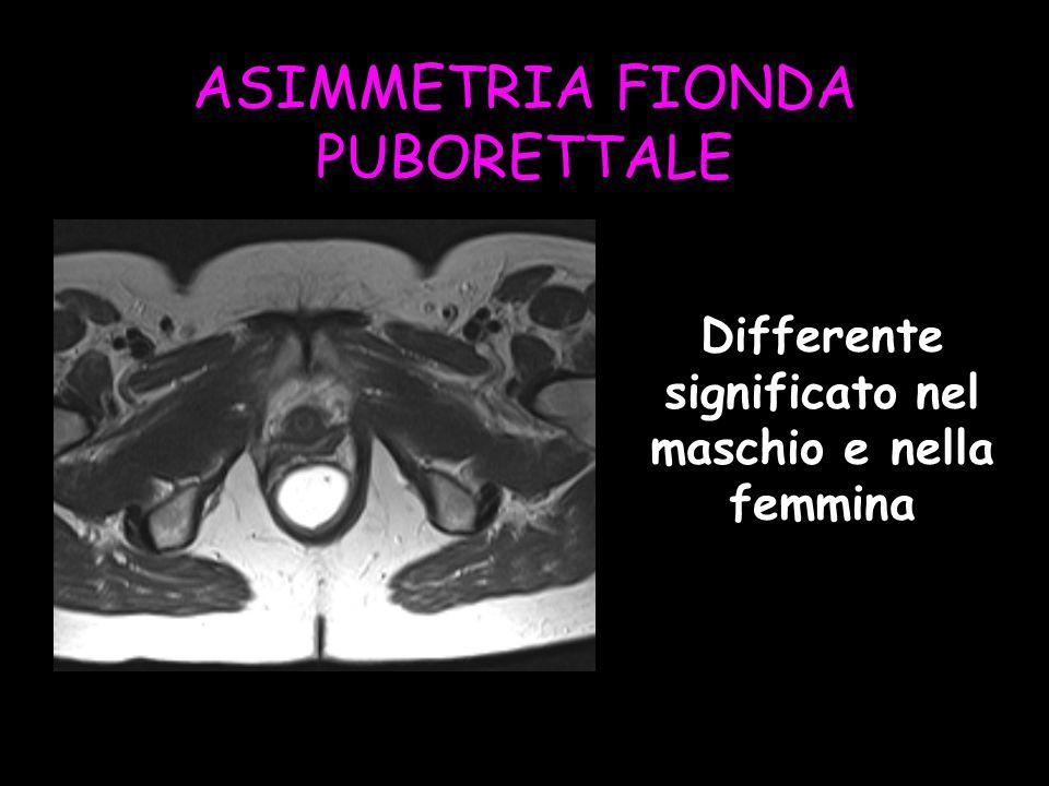 Differente significato nel maschio e nella femmina
