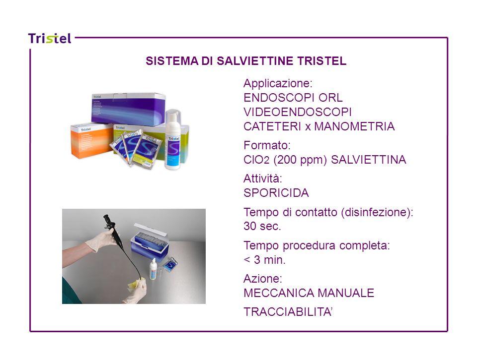 SISTEMA DI SALVIETTINE TRISTEL