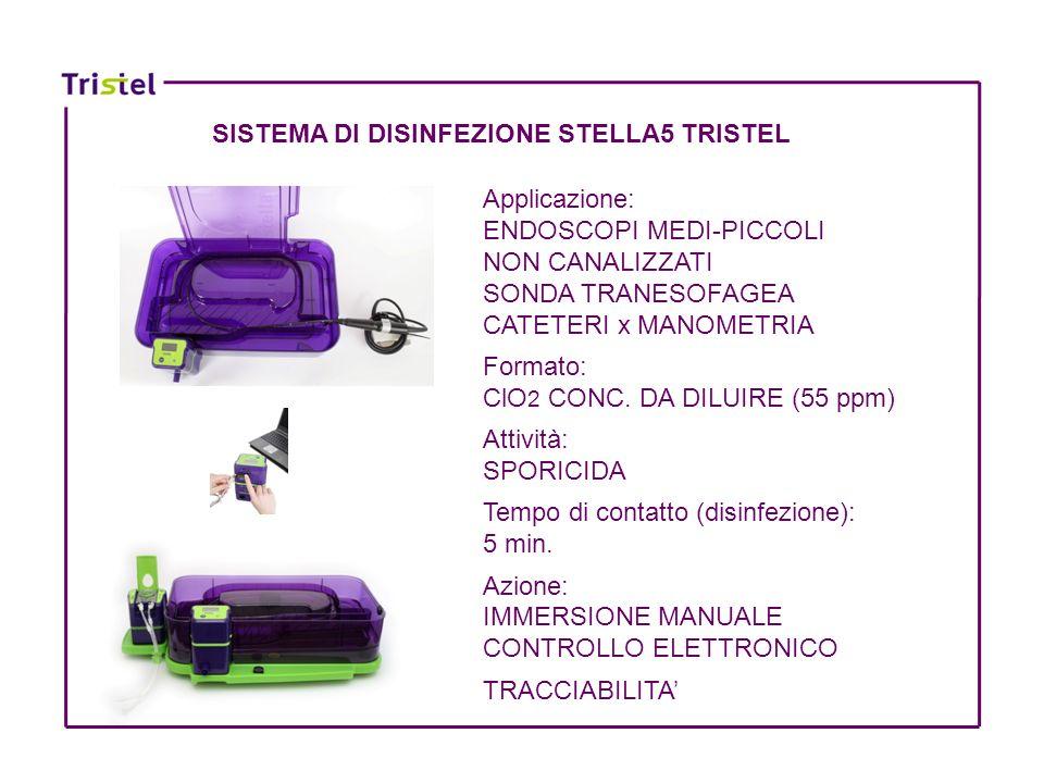 SISTEMA DI DISINFEZIONE STELLA5 TRISTEL