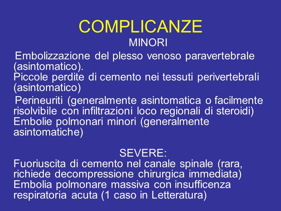 COMPLICANZE MINORI.