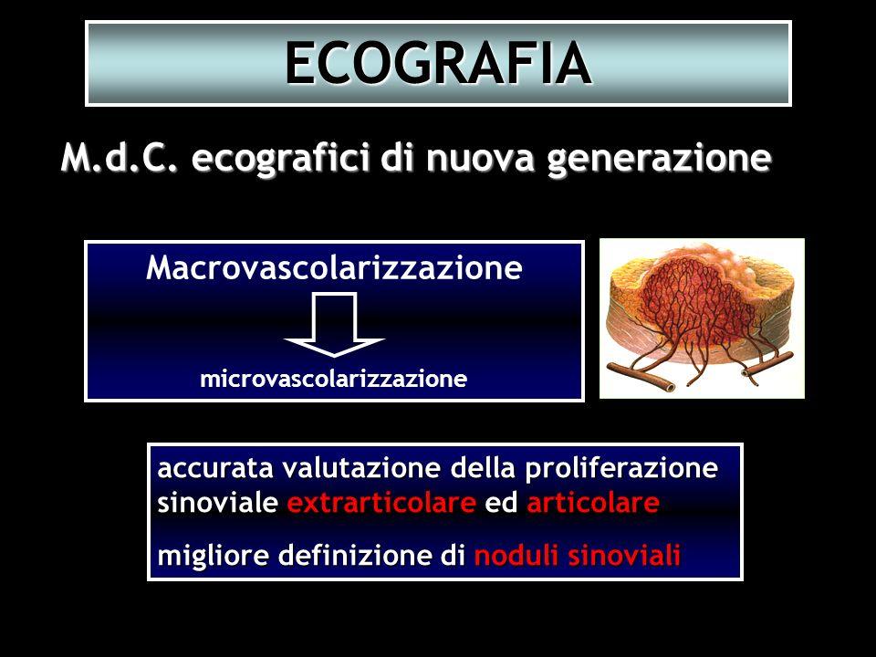 Macrovascolarizzazione microvascolarizzazione