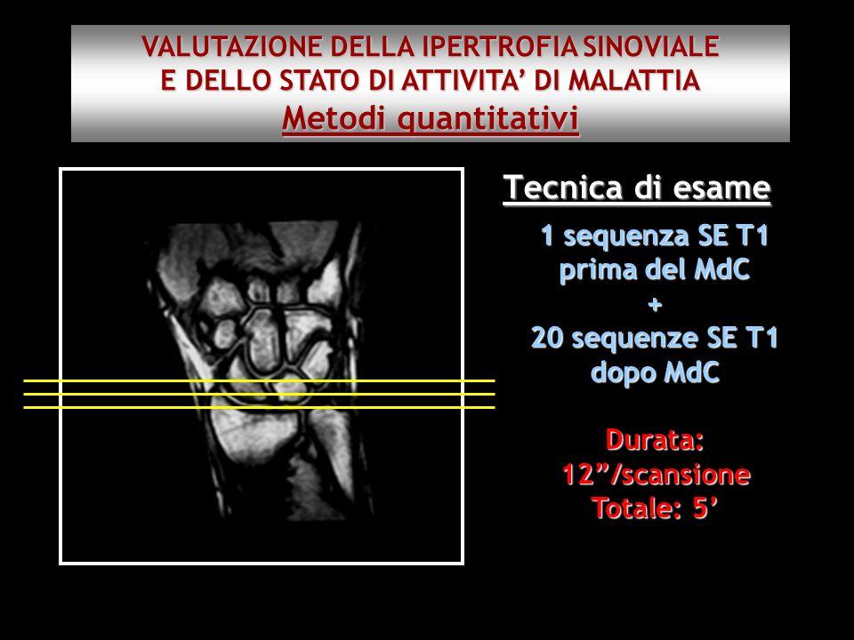 Metodi quantitativi Tecnica di esame