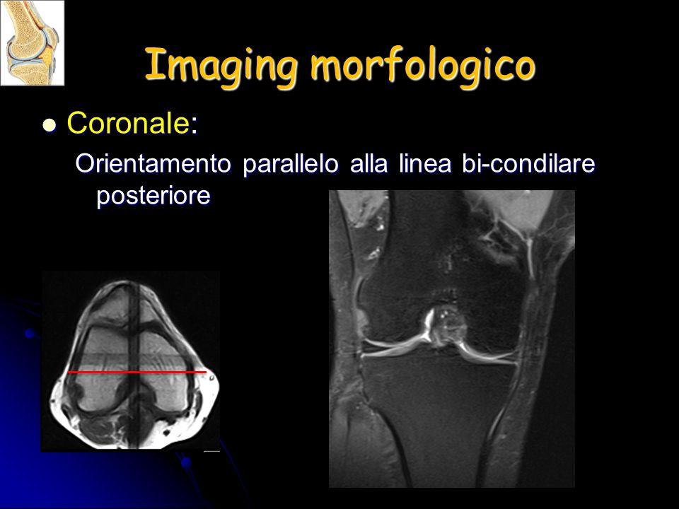 Imaging morfologico Coronale:
