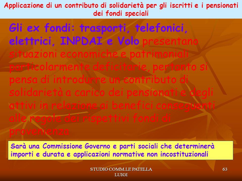 STUDIO COMM.LE PATELLA LUIGI