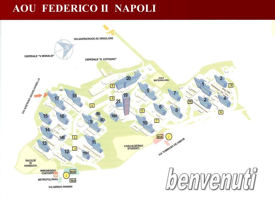 AOU FEDERICO II NAPOLI benvenuti