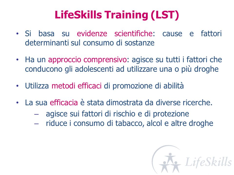 LifeSkills Training (LST)