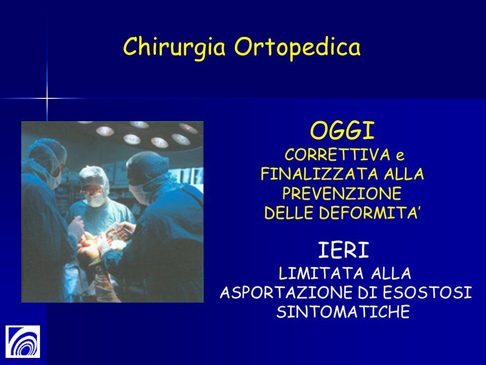 Chirurgia Ortopedica OGGI IERI CORRETTIVA e