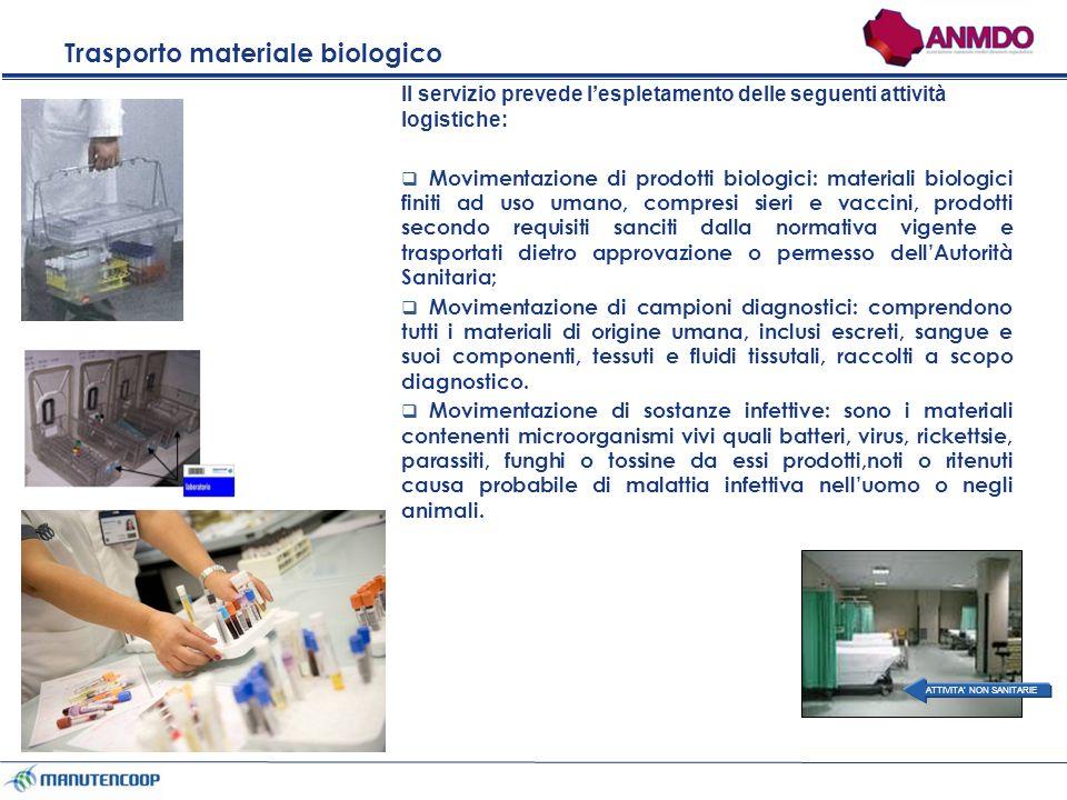 Trasporto materiale biologico