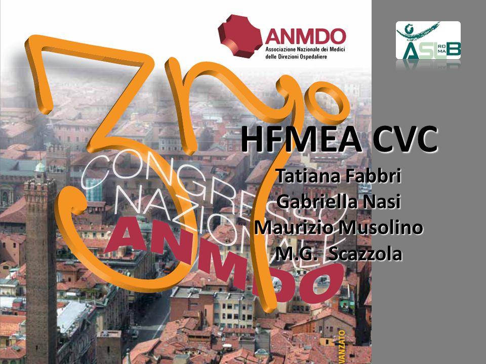 HFMEA CVC Tatiana Fabbri Gabriella Nasi Maurizio Musolino M. G