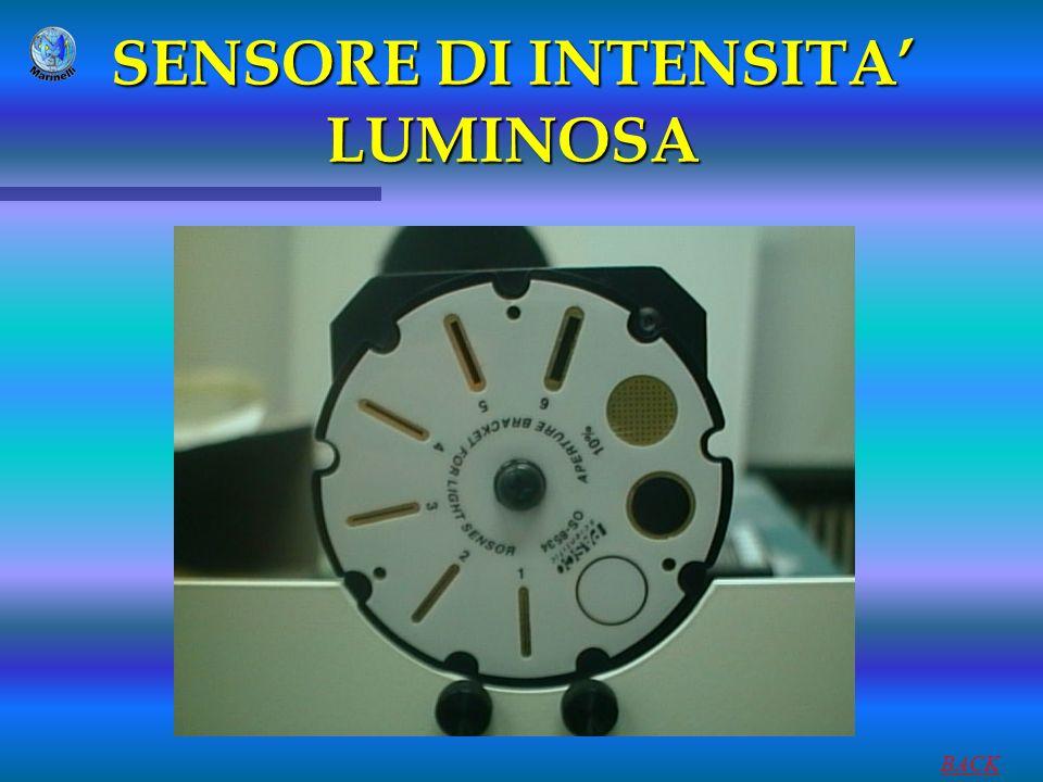 SENSORE DI INTENSITA' LUMINOSA