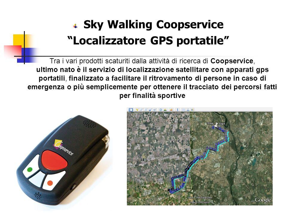 Sky Walking Coopservice Localizzatore GPS portatile