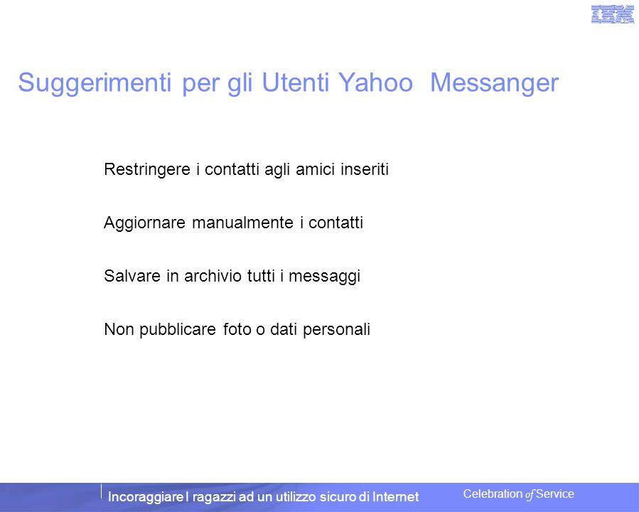 Suggerimenti per gli Utenti Yahoo Messanger