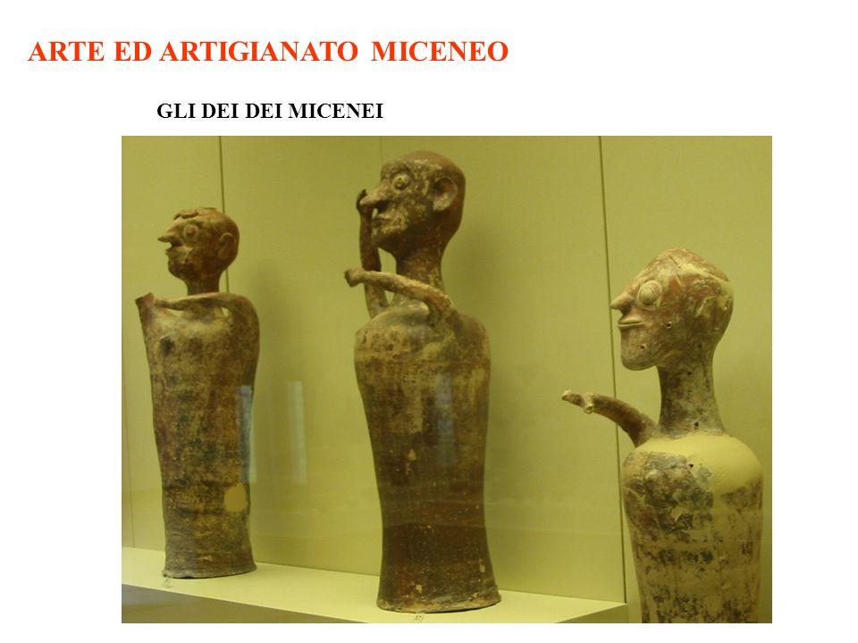ARTE ED ARTIGIANATO MICENEO