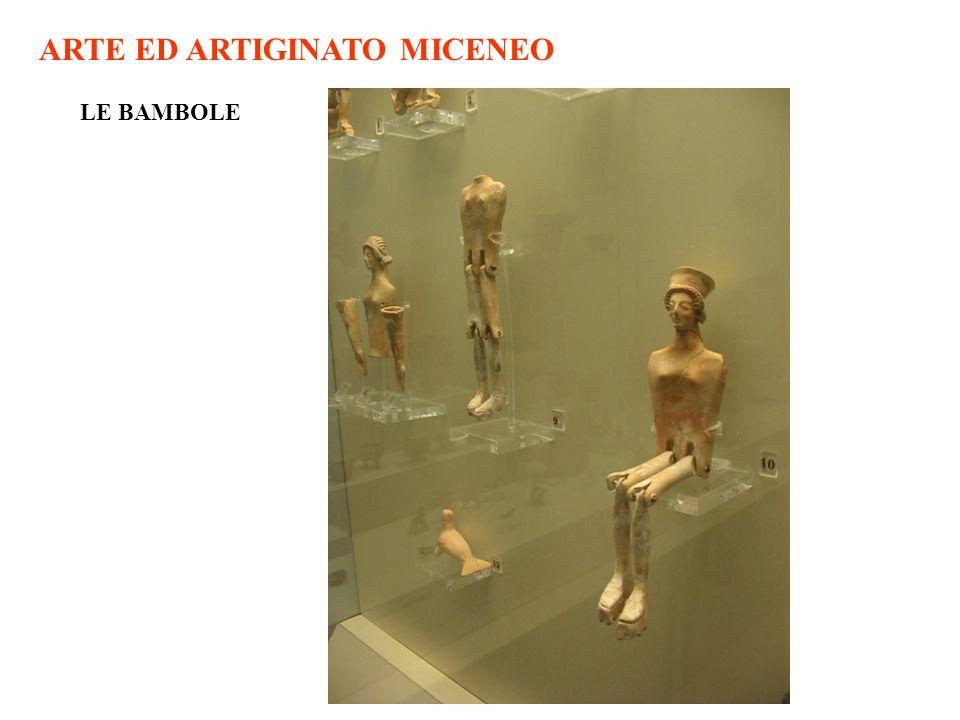 ARTE ED ARTIGINATO MICENEO
