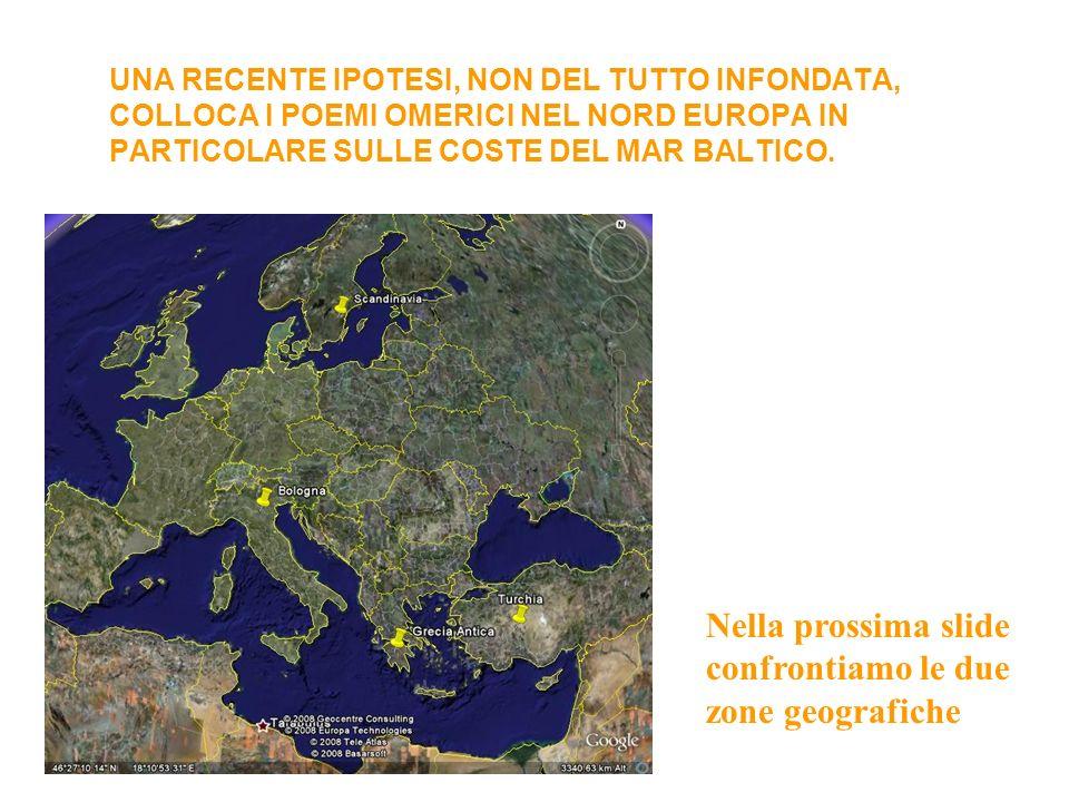 UNA RECENTE IPOTESI, NON DEL TUTTO INFONDATA, COLLOCA I POEMI OMERICI NEL NORD EUROPA IN PARTICOLARE SULLE COSTE DEL MAR BALTICO.