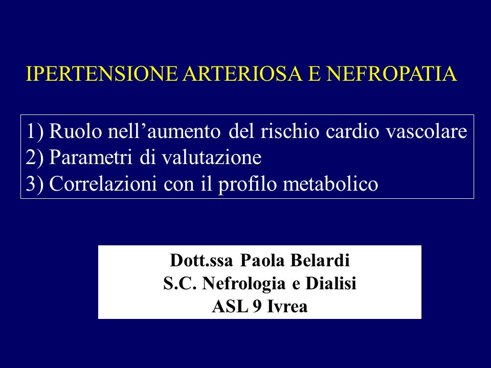 S.C. Nefrologia e Dialisi