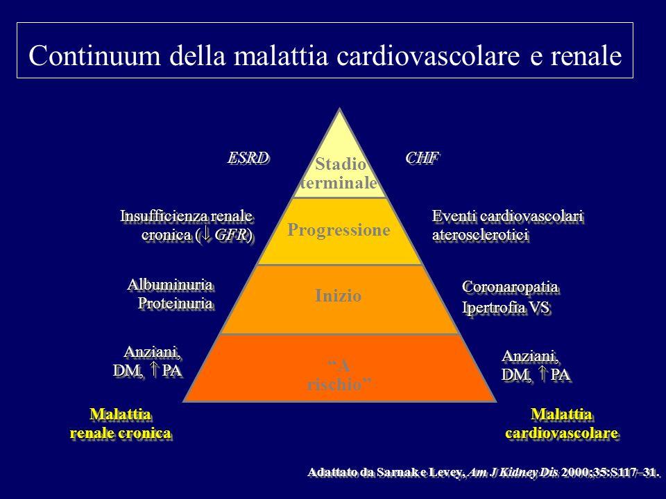Continuum della malattia cardiovascolare e renale