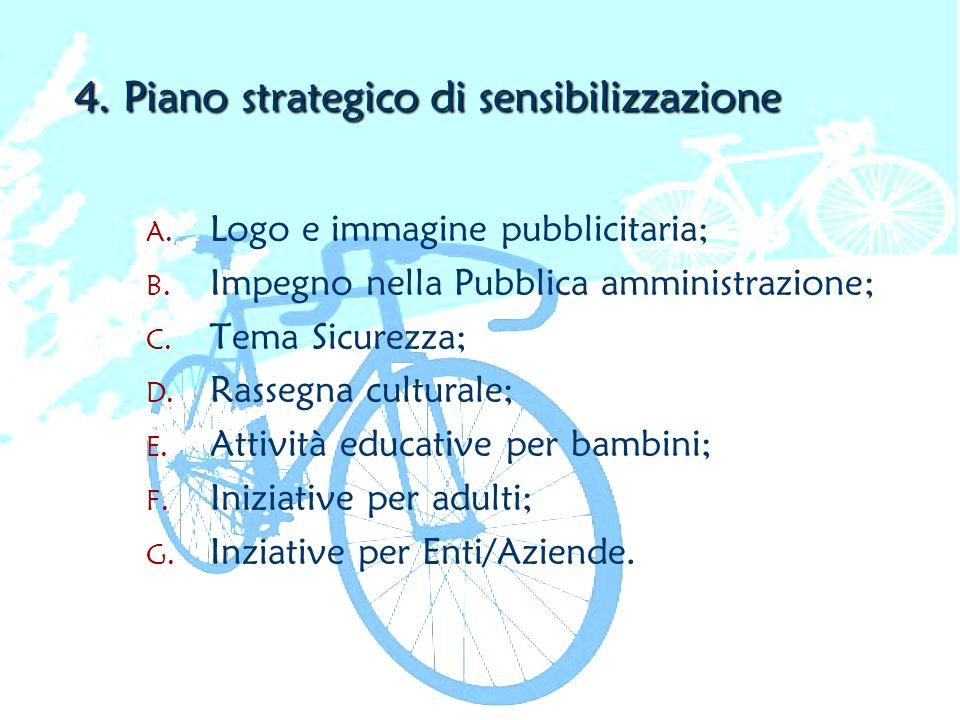 4. Piano strategico di sensibilizzazione