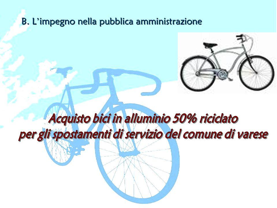 B. L'impegno nella pubblica amministrazione