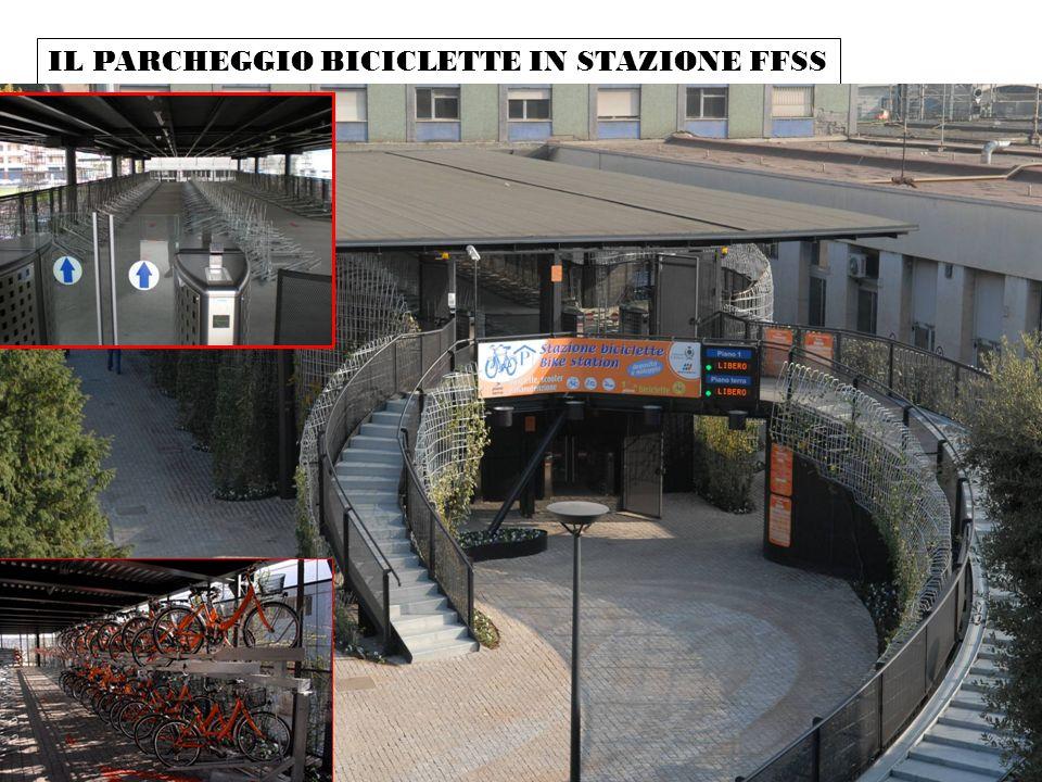 IL PARCHEGGIO BICICLETTE IN STAZIONE FFSS