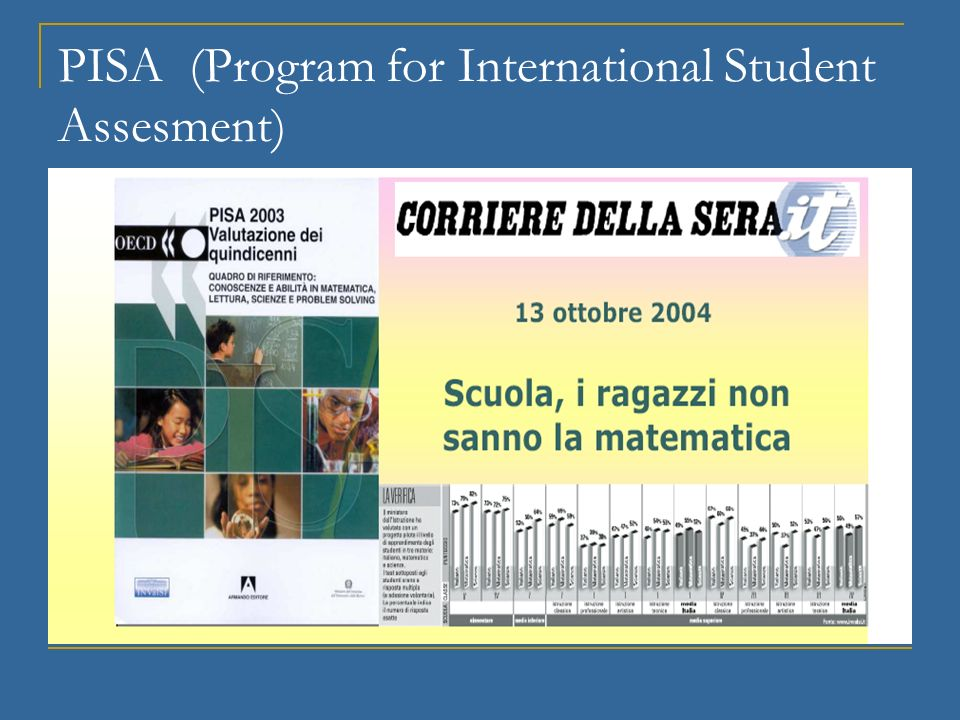 PISA (Program for International Student Assesment)