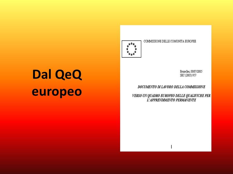 Dal QeQ europeo