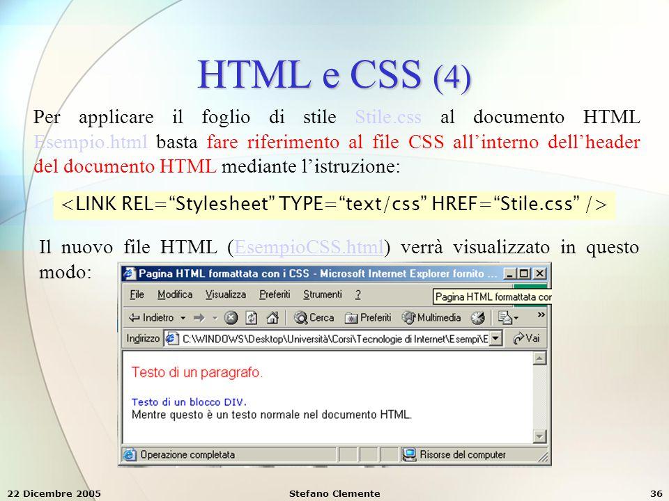 HTML e CSS (4)