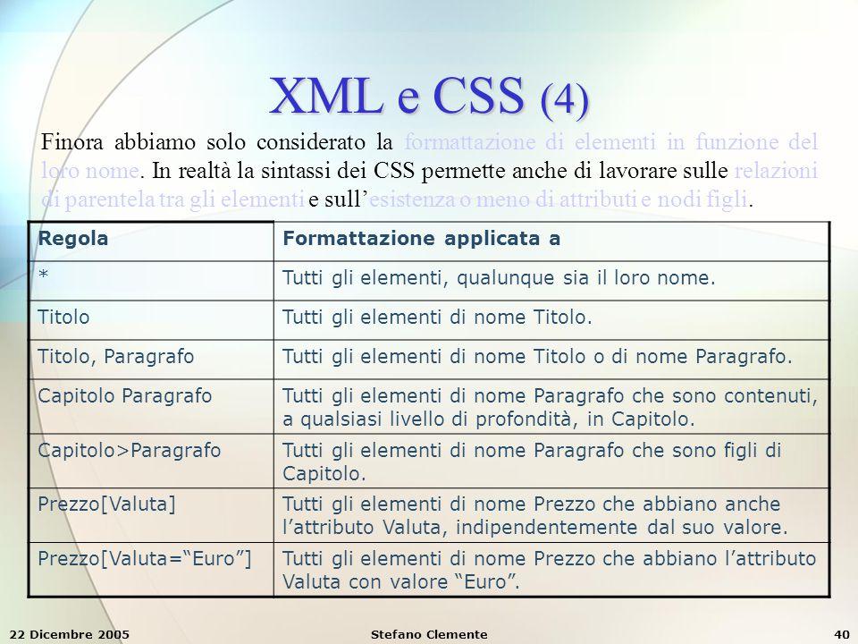 XML e CSS (4)