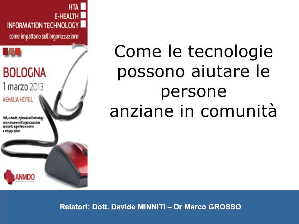 Relatori: Dott. Davide MINNITI – Dr Marco GROSSO