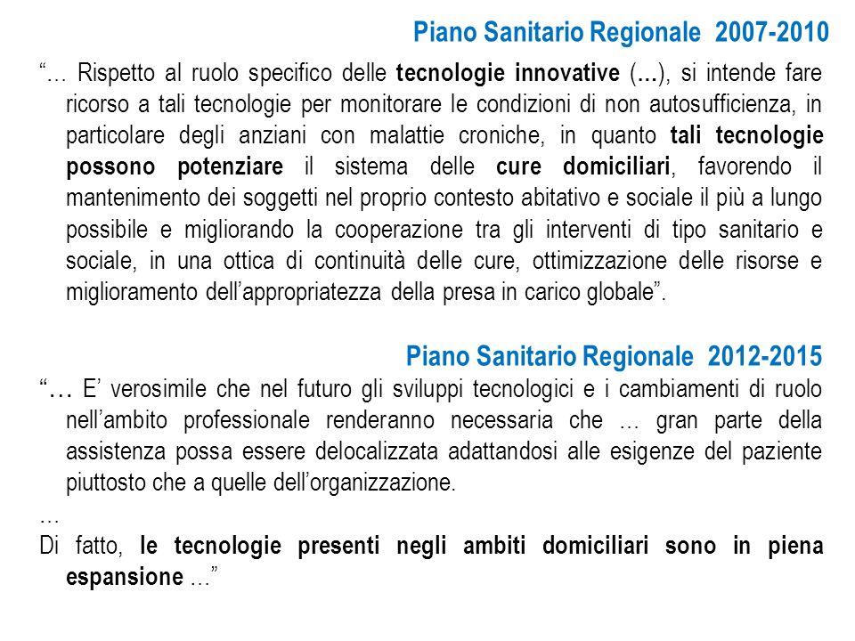Piano Sanitario Regionale 2007-2010